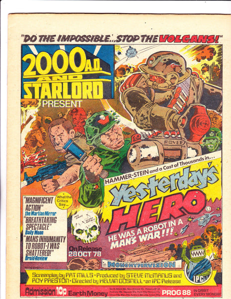 2000 A.D. & Star Lord No.88 : 1978 : :
