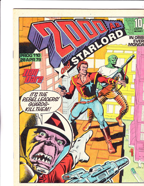 2000 A.D. & Star Lord No.110 : 1979 : :
