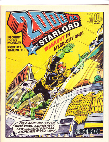 2000 A.D. & Star Lord No.117 : 1979 : :