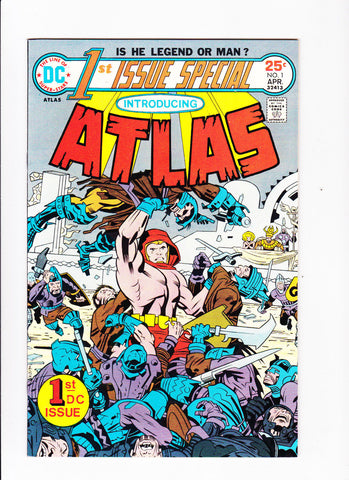 1st Issue Special No.1 :: 1975 :: :: Introducing Atlas :: :: Kirby Art ::