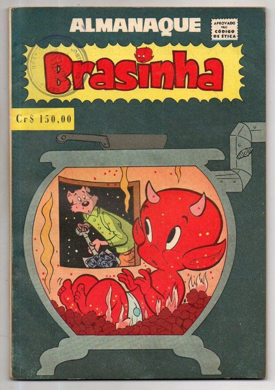 ALMANAQUE BRASHINA HOT STUFF 1962 GIANT ISSUE