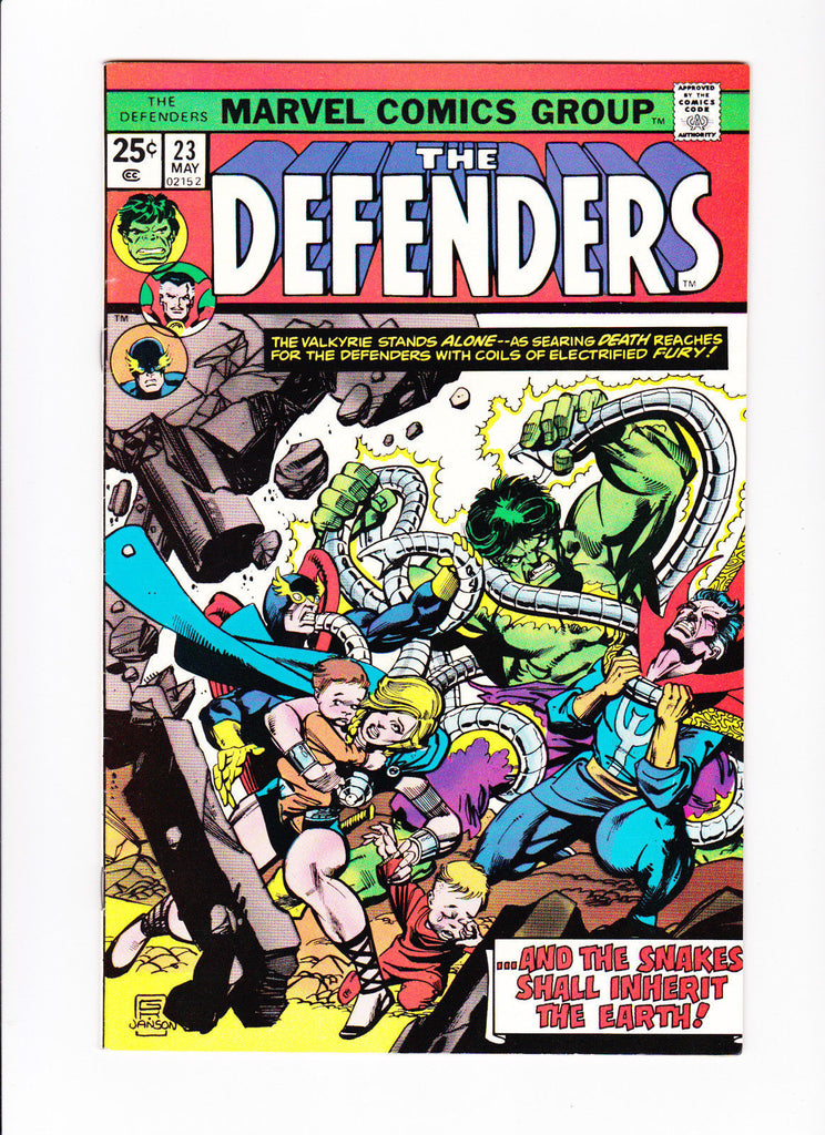 The Defenders 23 The Snakes Shall Inherit The Earth
