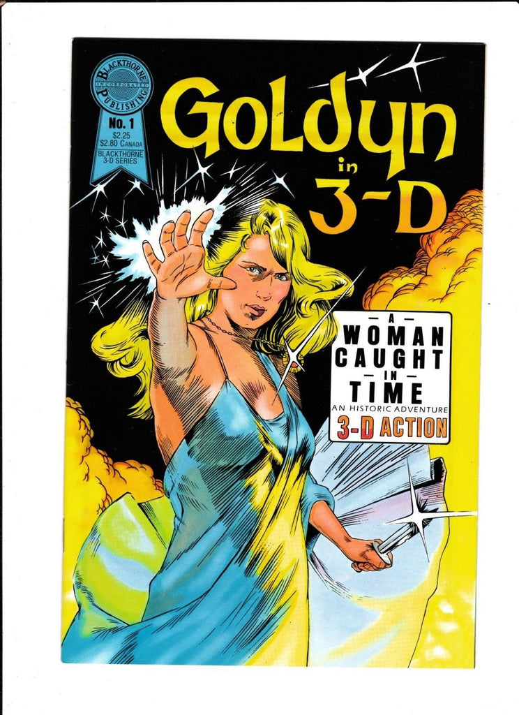 GOLDYN 3-D #1 [1986 VF-NM] A WOMAN CAUGHT IN TIME