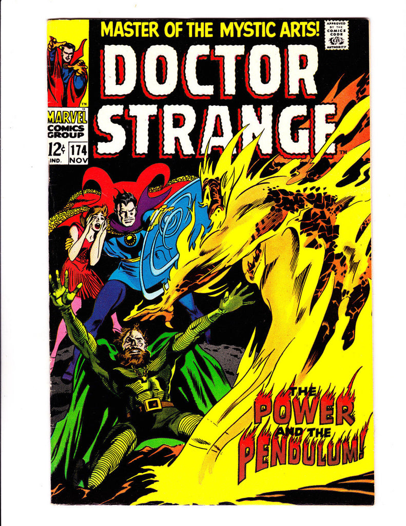 Doctor Strange 174 Power and The Pendulum Glossy Nice NM- Copy