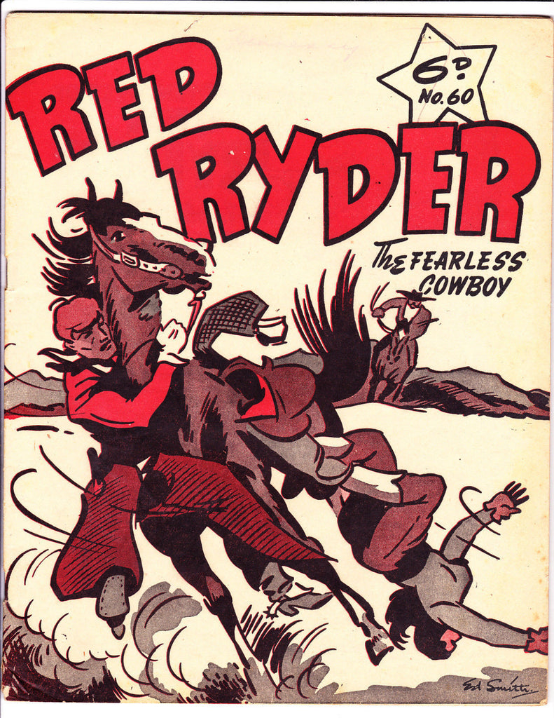 Red Ryder No 60 1950's -Australian-