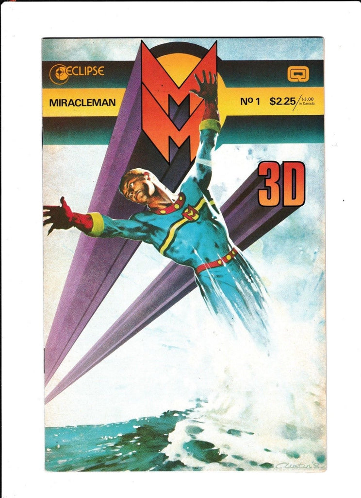 MiracleMan No.1 : 1985 : : 3-D Special :