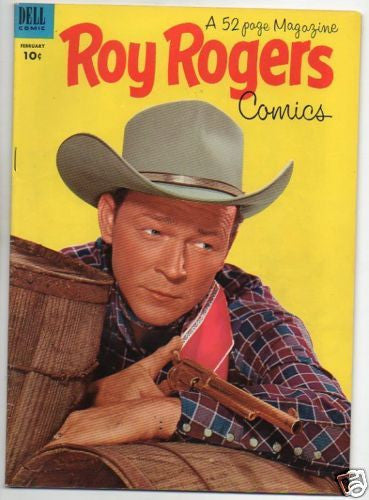 ROY ROGERS :: 62 :: COWBOY WITH PISTOL PHOTO COVER