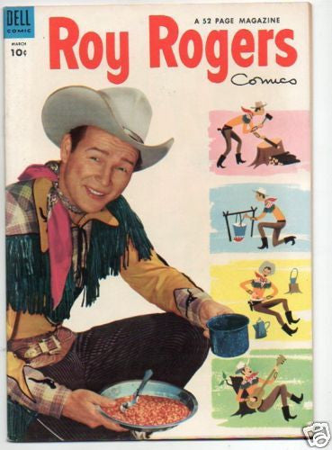 ROY ROGERS :: 75 :: GREAT WESTERN LIVING PHOTO COVER