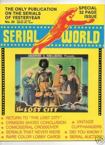 SERIAL WORLD :: 25 :: RETURN TO