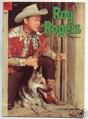 ROY ROGERS :: 78 :: COWBOY WITH A DOG PHOTO COVER