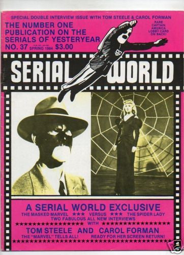 SERIAL WORLD :: 37 :: A SERIAL WORLD EXCLUSIVE