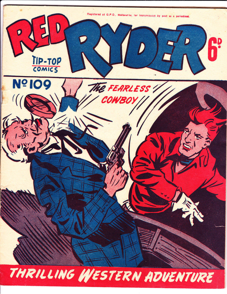 Red Ryder No 109 1950's -Australian-