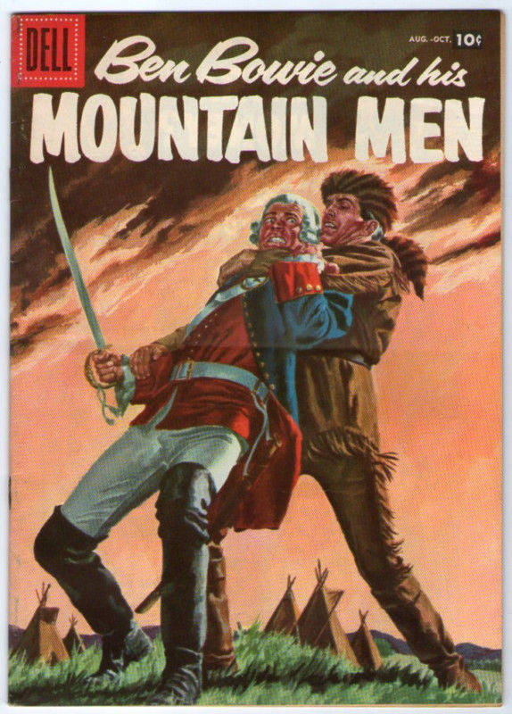 BEN BOWIE AND HIS MOUNTAIN MEN 12 DELL COMIC