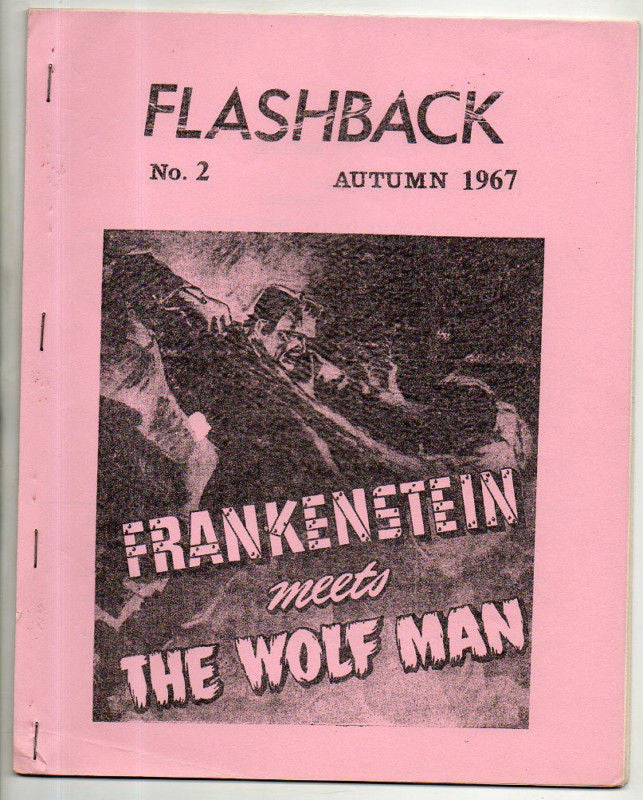 FLASHBACK 2 FRANKENSTEIN & WOLFMAN COVER 1967