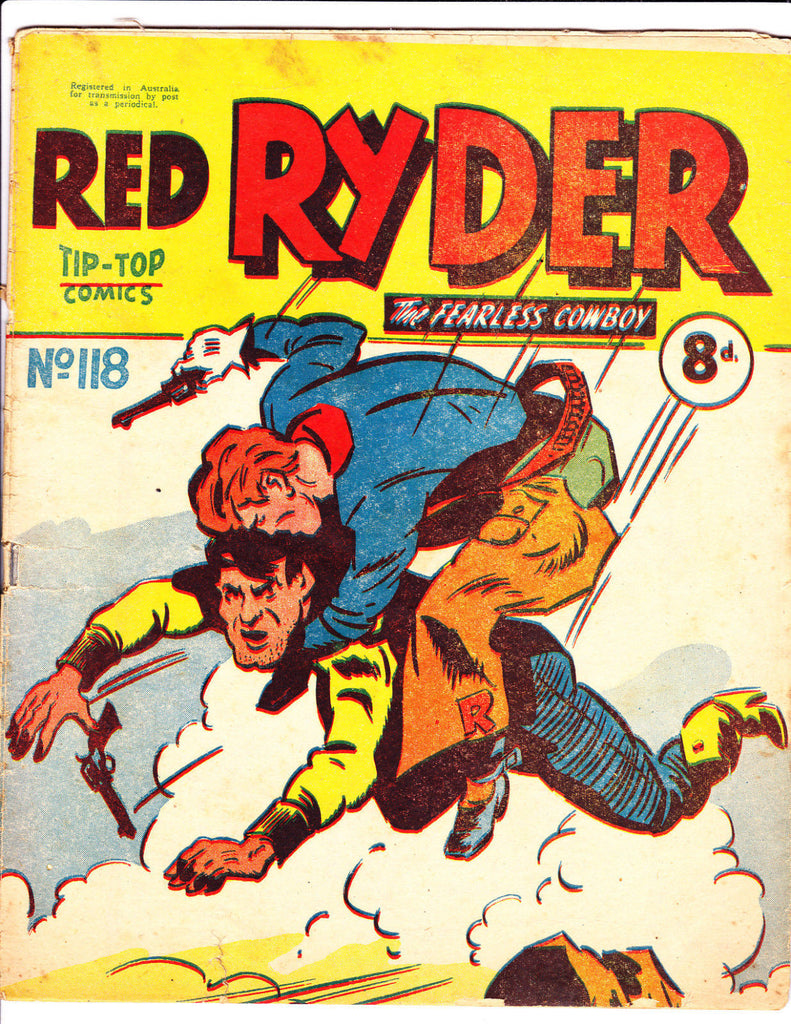 Red Ryder No 118 1950's -Australian-