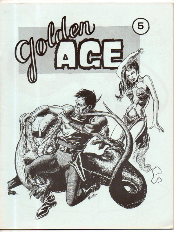 GOLDEN AGE 5 DON NEWTON COVER