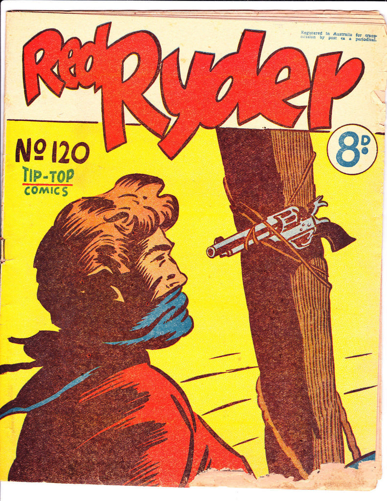 Red Ryder No 120 1950's -Australian-