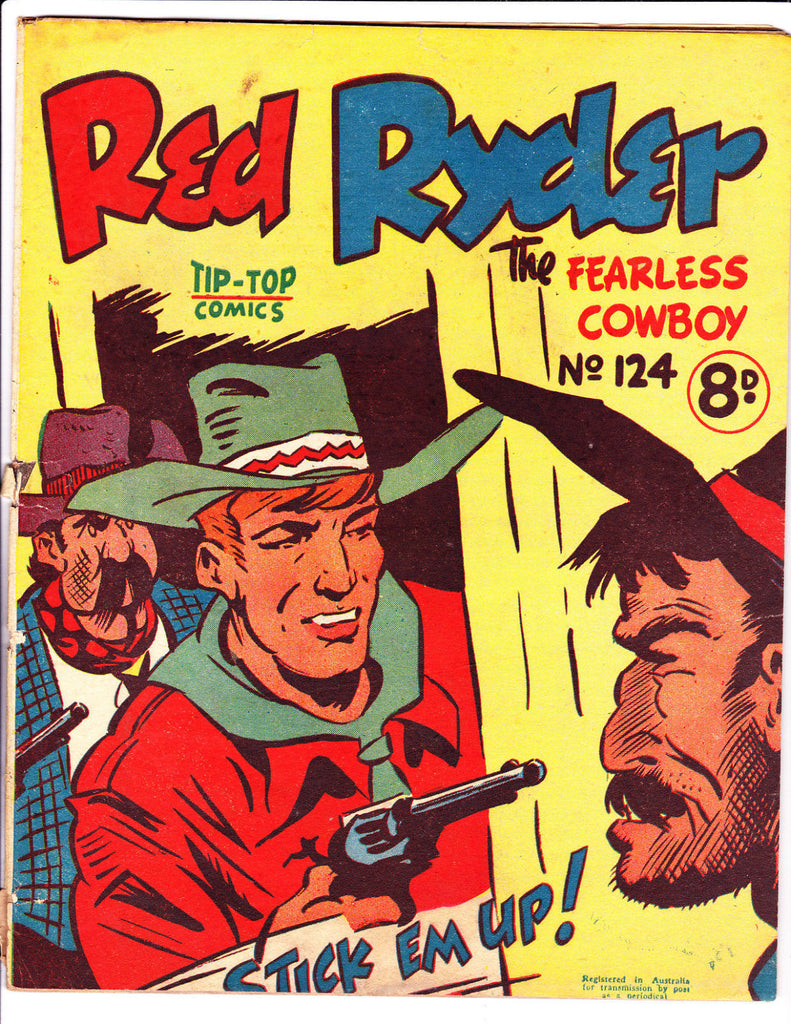 Red Ryder No 124 1950's -Australian-