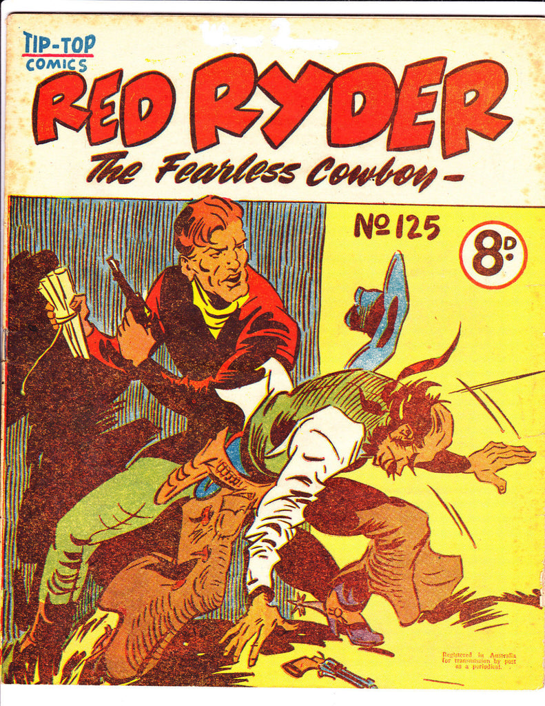 Red Ryder No 125 1950's -Australian-