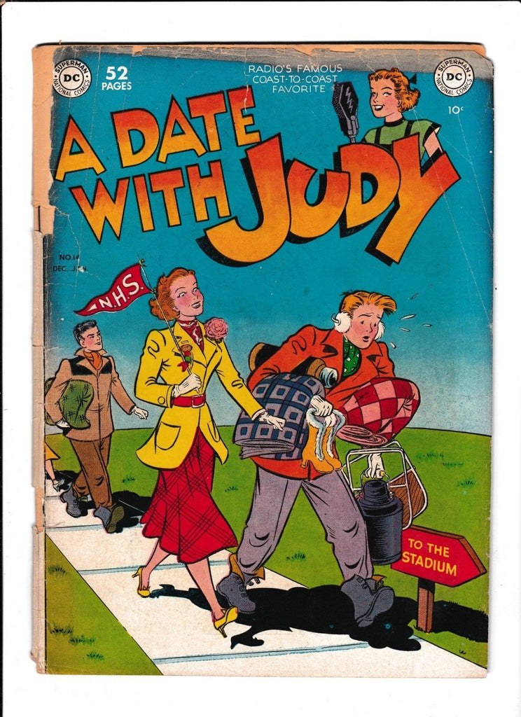 A Date With Judy No.14 : 1950 : : To The Stadium Cover :