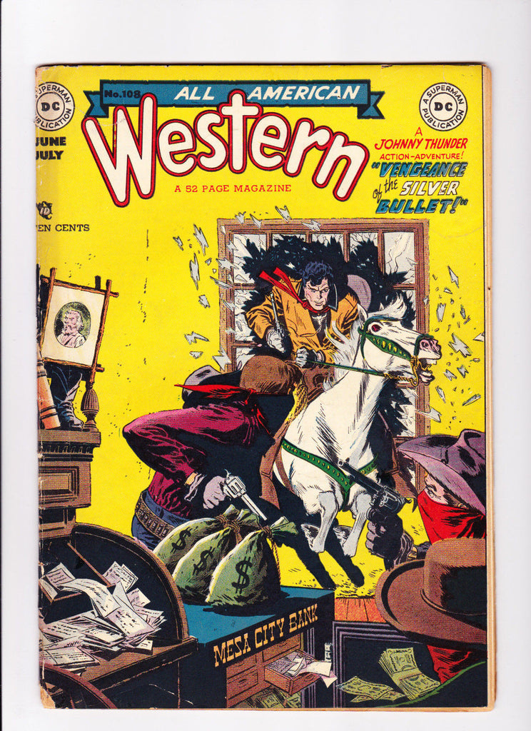 All American Western No.108 :: 1949 :: :: Alex Toth Art  ::
