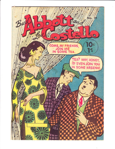 Abbott & Costello No.19 1950s : Australian Copy :