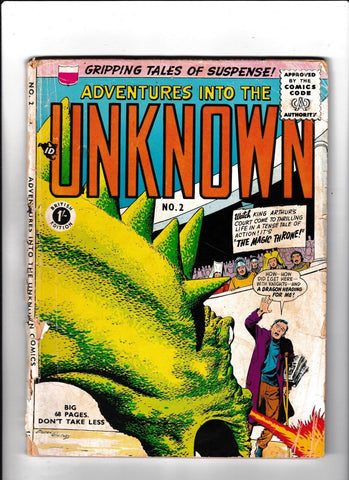 Adventures Into The Unknown No.2 : 1960's? : : British Edition :