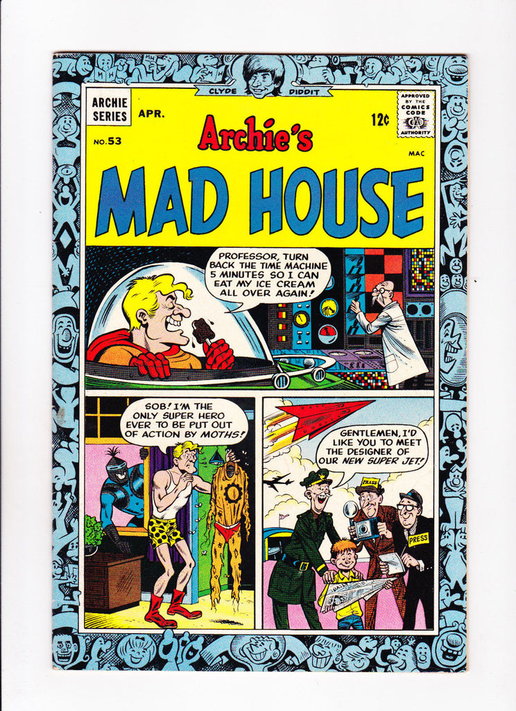 Archie's Madhouse No.53 : 1967 : : Ice Cream Cover :