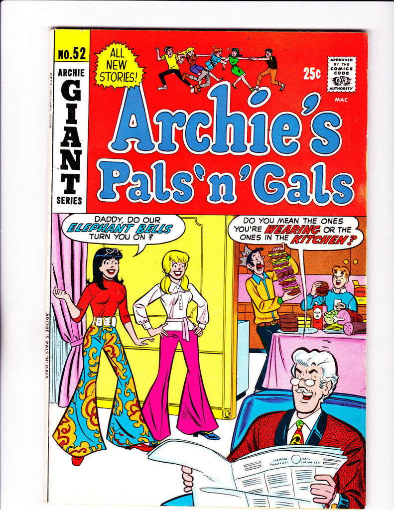 Archie's Pals'N'Gals No.52 : 1969 : : Bell-Bottoms Cover :