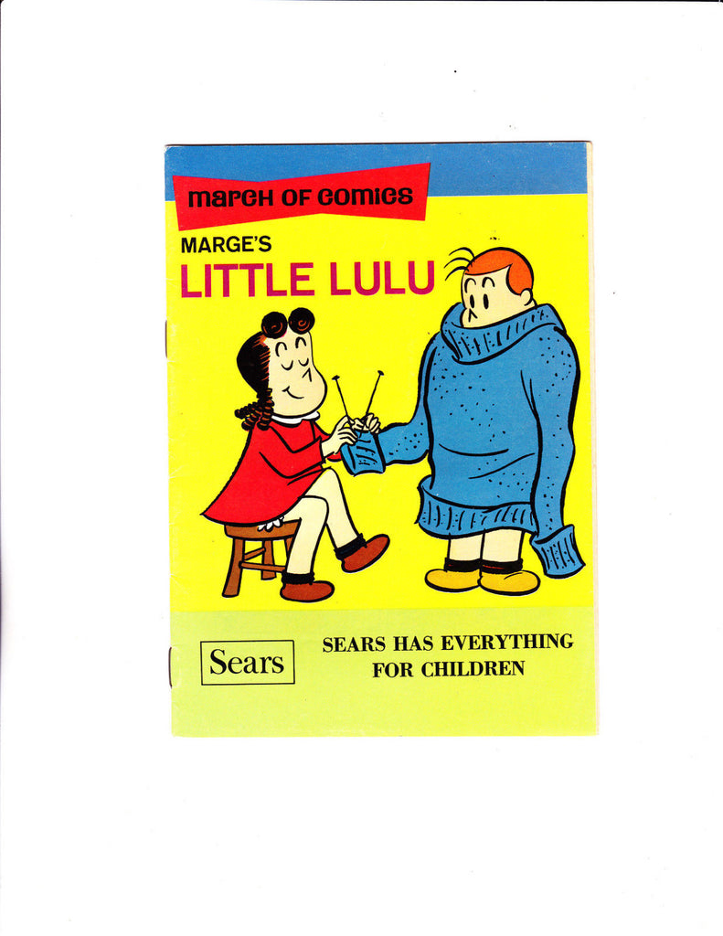 March Of Comics No.335 : 1968 : : Little Lulu : : Knitting Cover :