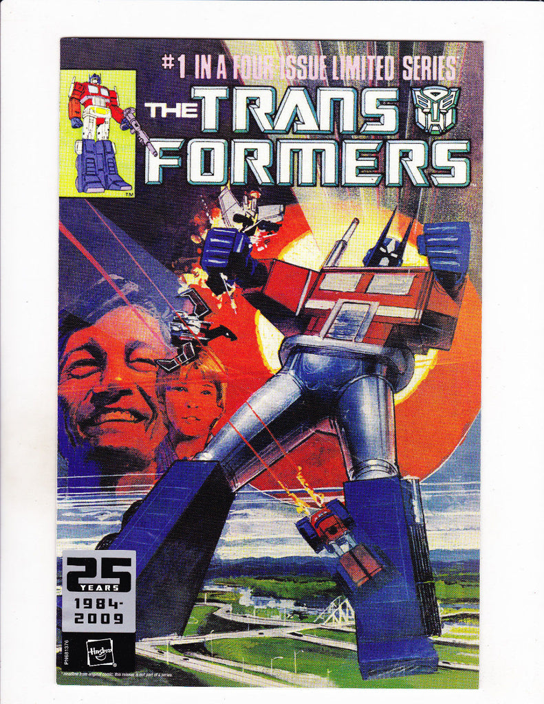 TRANSFORMERS  [2008 VG+]  REPRINT ISSUE #1 BY HASBRO TOYS