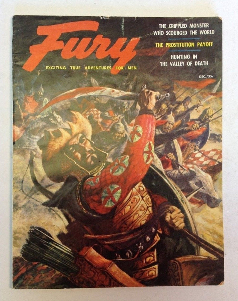 Fury Magazine    December 1955    Japanese War Cover
