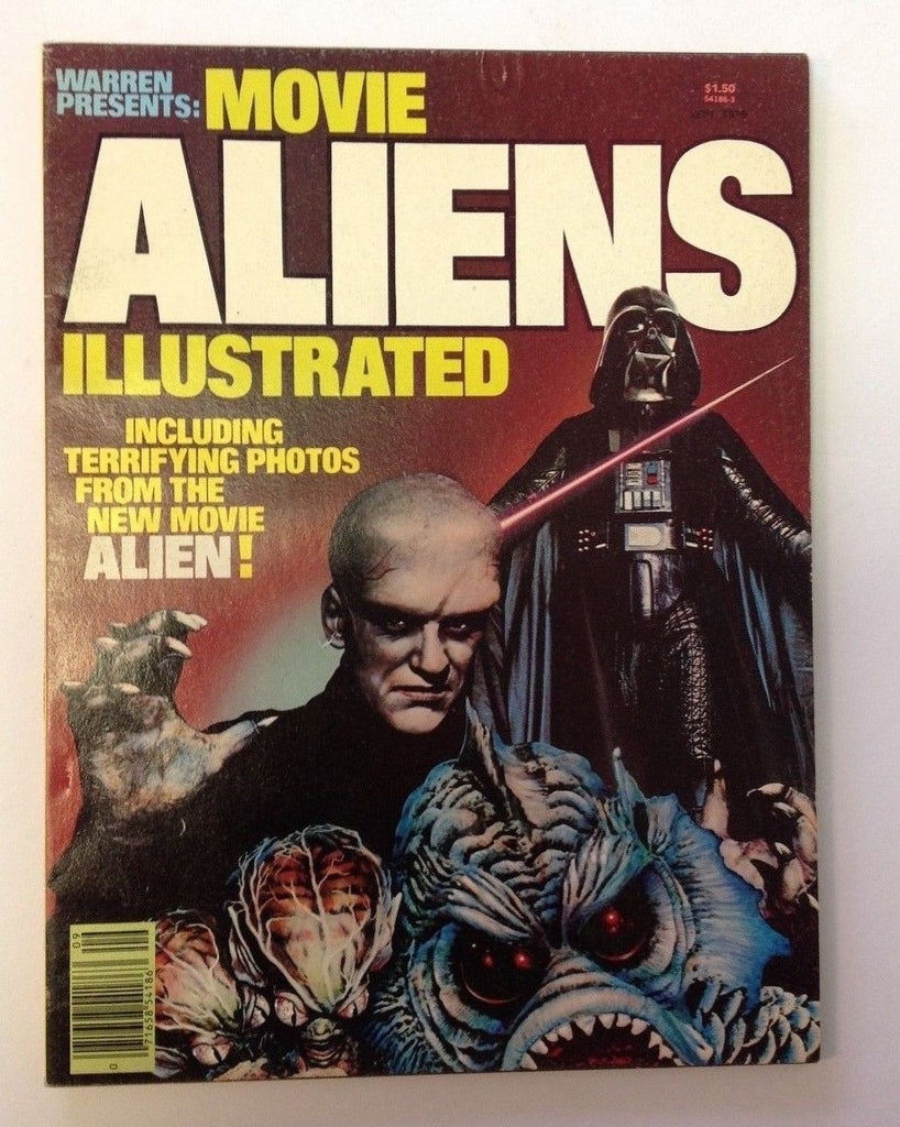 Warren Presents #4   Movie Aliens Illustrated   September 1979