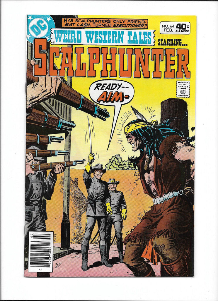 WEIRD WESTERN TALES #64  [1980 NM-]  FIRING SQUAD COVER!