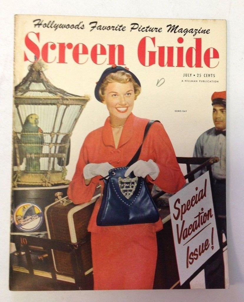Screen Guide Magazine   July 1950   Doris Day Cover