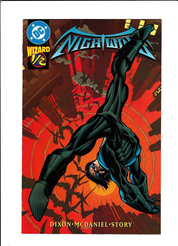 NIGHTWING #1/2  [1997 FN-]  LIMITED EDITION WIZARD GIVEAWAY!