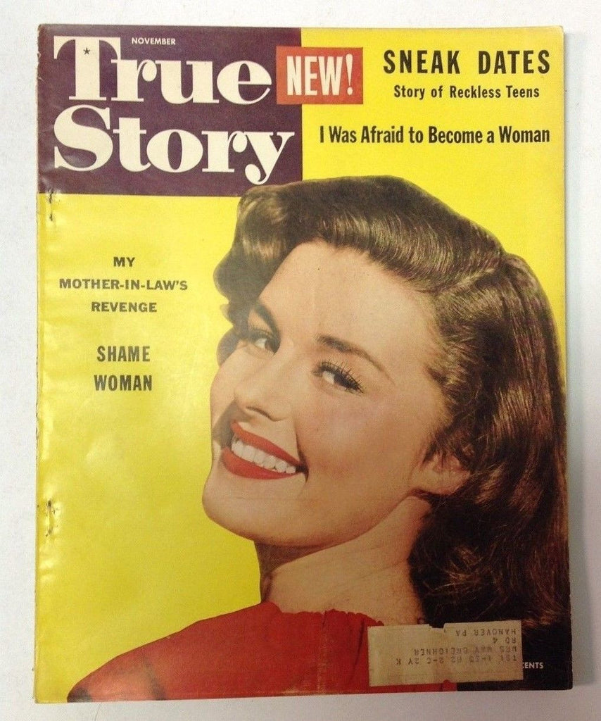 True Story Magazine   November 1952    Cool Vintage Ads