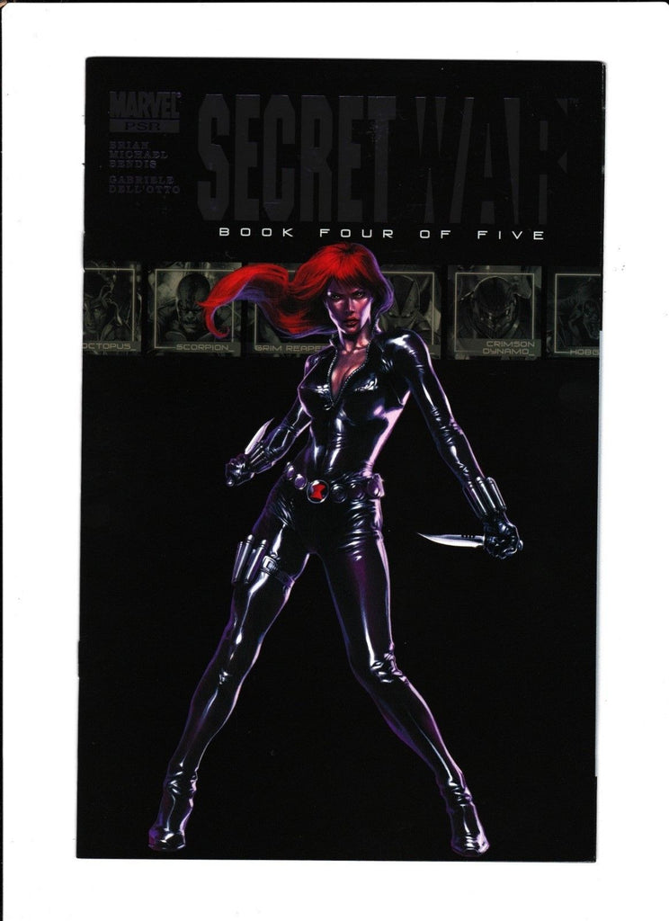 Secret War No.4  : 2004 :  : Black Widow Cover! :