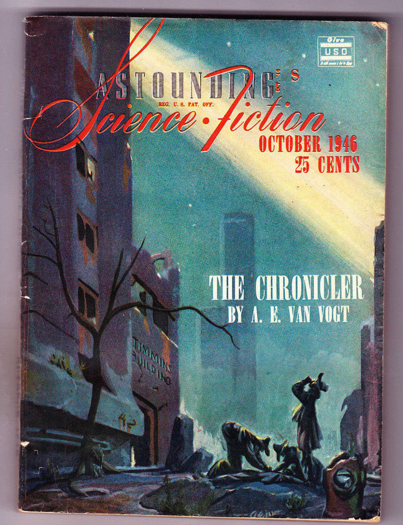 Astounding Science Fiction Oct 1946 The Chronicler