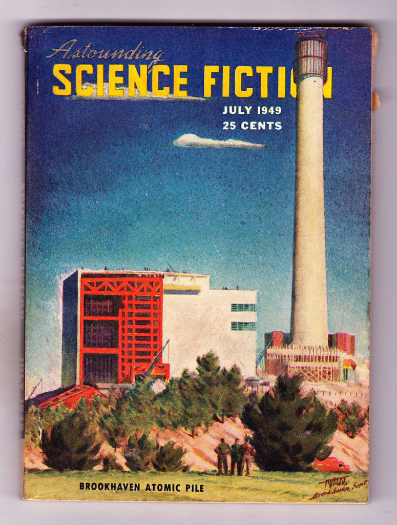 Astounding Science Fiction July 1949 Brookhaven Atomic Pile