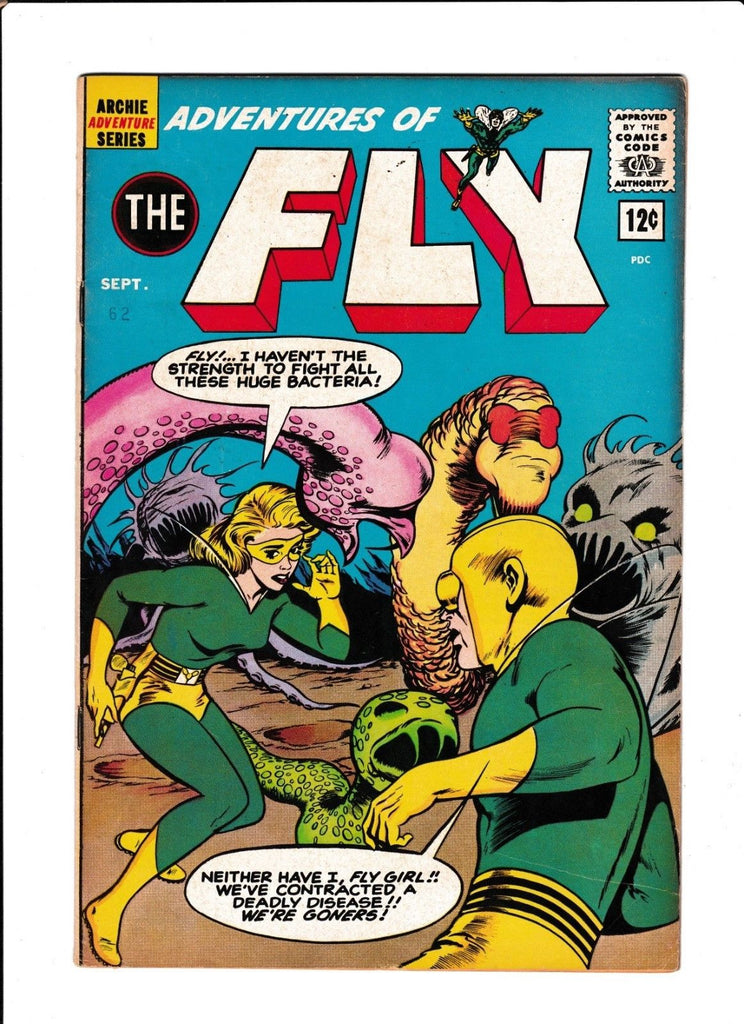 ADVENTURES OF FLY #21  [1962 VG-FN]