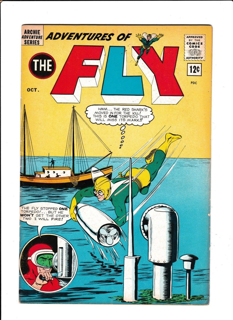 ADVENTURES OF FLY #28  [1963 VG+]