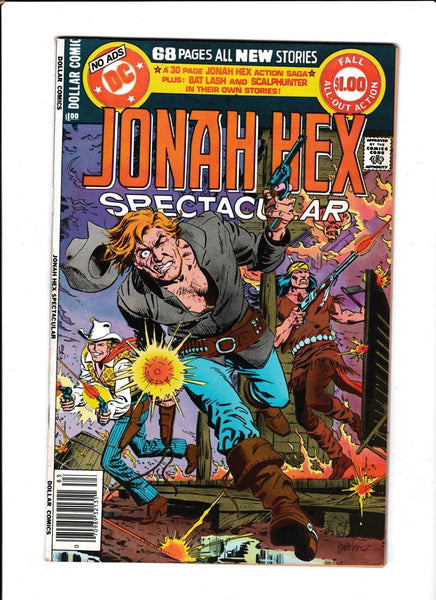 JONAH HEX SPECTACULAR VOL.2  #16  [1978 VF+]  DEATH OF JONAH HEX!