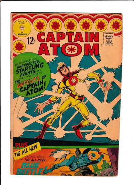 CAPTAIN ATOM  #83  [1966 GD-VG]  1ST TED KORD!