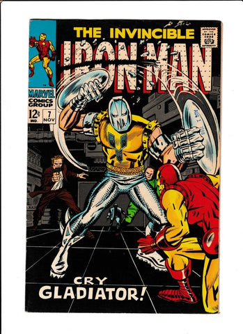 IRON MAN  #7  [1968 VF-NM]