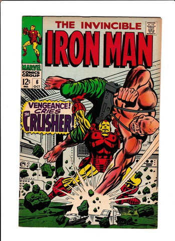 IRON MAN  #6  [1968 NM-]  HIGH GRADE!