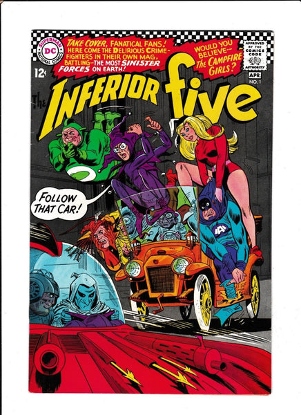 INFERIOR FIVE #1  [1967 FN-]