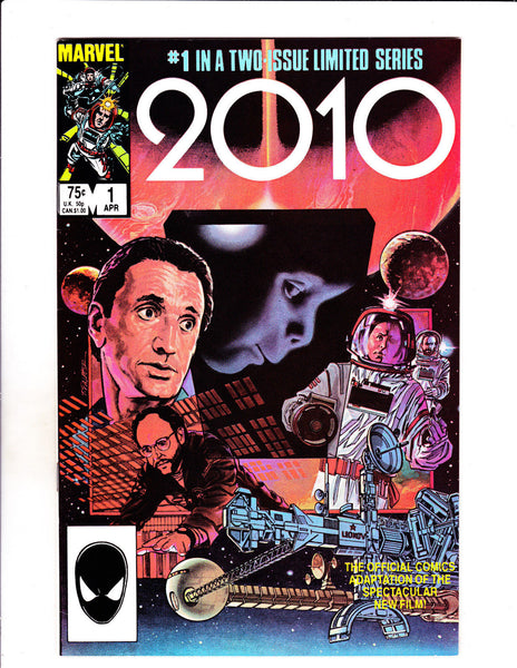 2010 No 1 & 2 Comic Set 1985 Official Movie Comic Set!