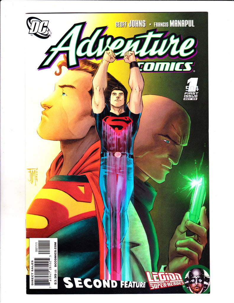 Adventure Comics No 1-12 Set 2009-10 Set Great Superboy Set!
