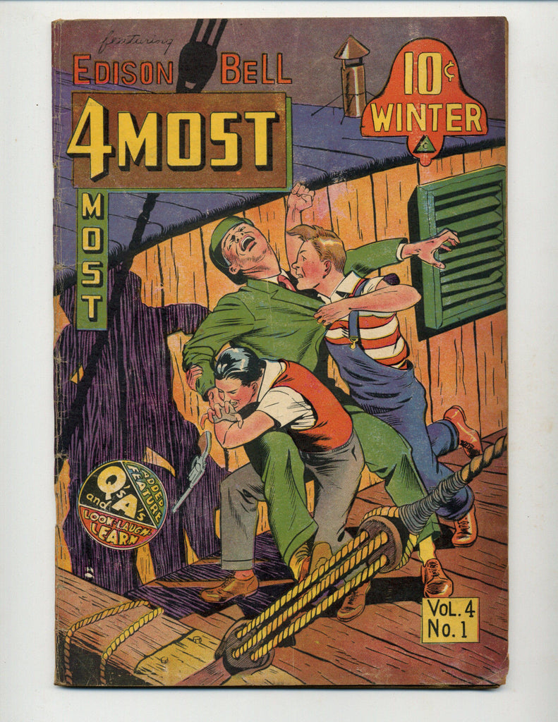 4MOST VOL.4 #1  [1945 GD+]  FEATURING DICK COLE & EDISON BELL